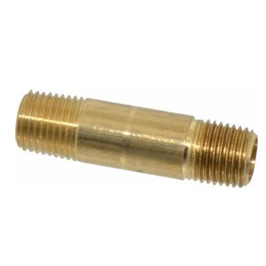 Pipe Nipple Brass 100 mml