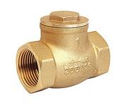 ฺBrass Swing Check Valve  150 PSI