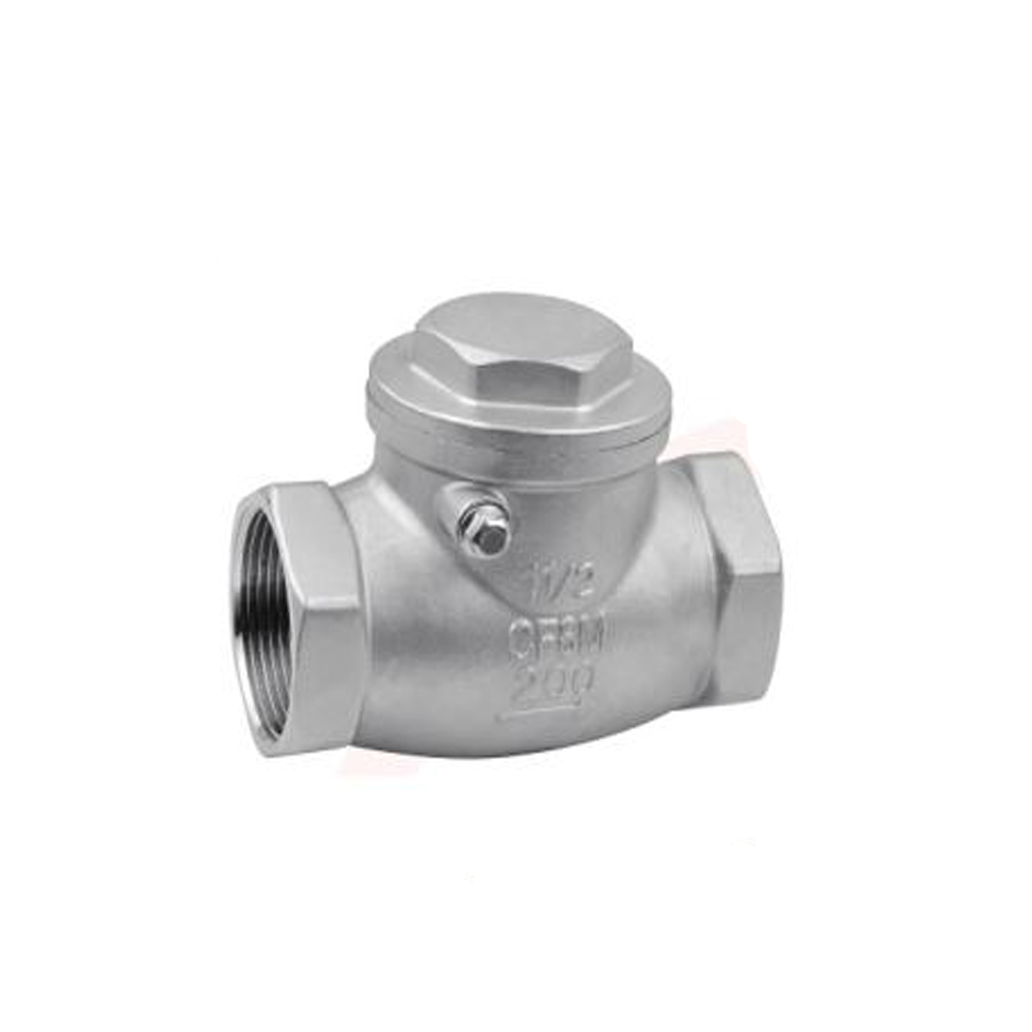 Stainless swing check valve 316